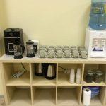 Безлимитный чай и кофе для студентов