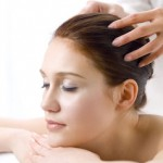 Обучение массажу волосистой части головы