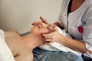 Скульптурный массаж лица 3 ступень