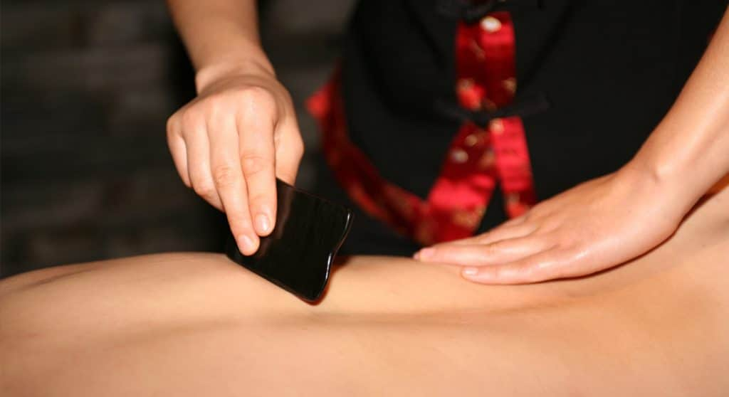 что такое массаж гуаша