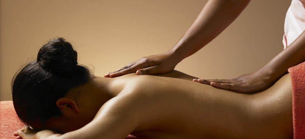 Воздействие расслабляющего массажа