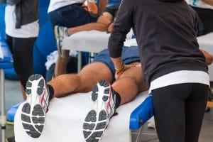 Спортивный массаж при травмах