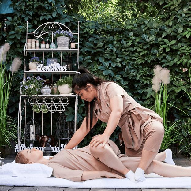последовательность выполнения тайского массажа