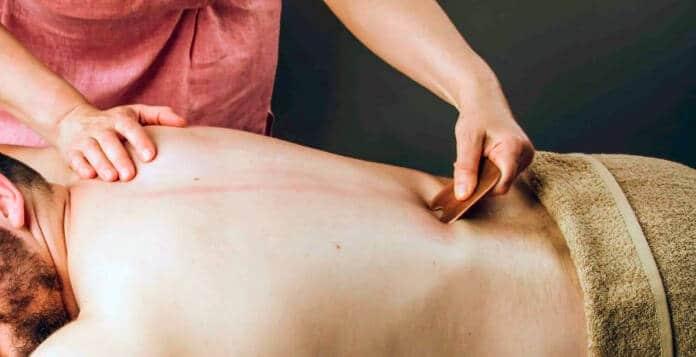 Лечебные свойства массажа Гуаша