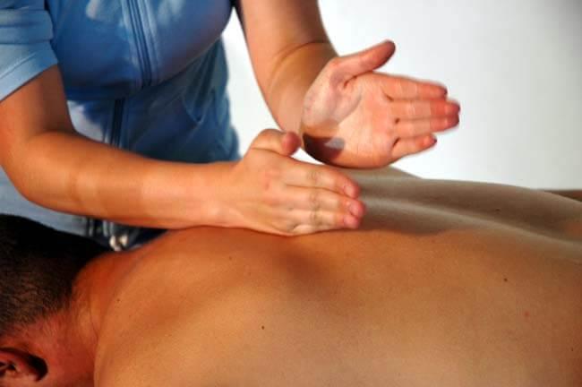 вибрация - прием классического массажа