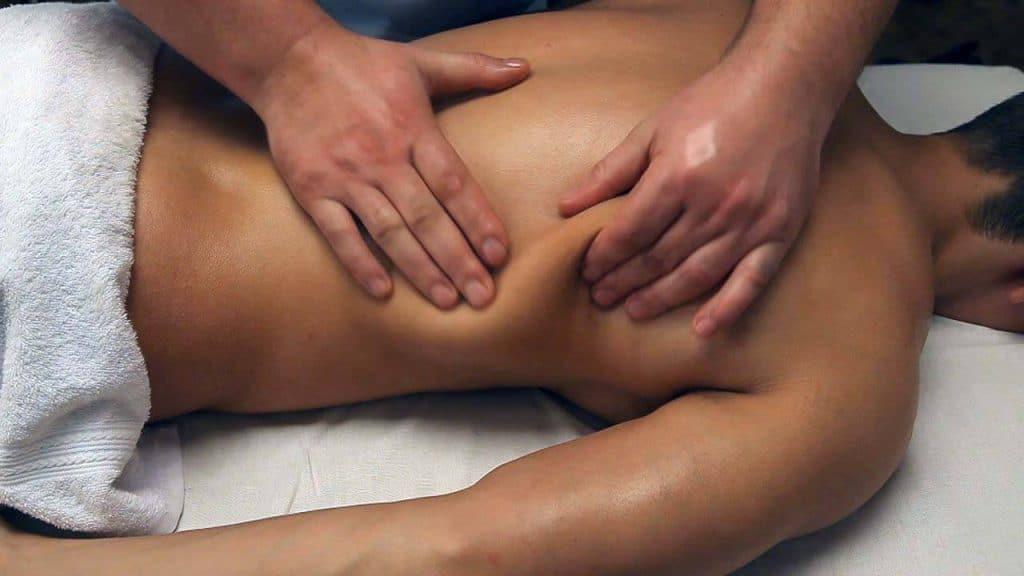разминание - прием классического массажа