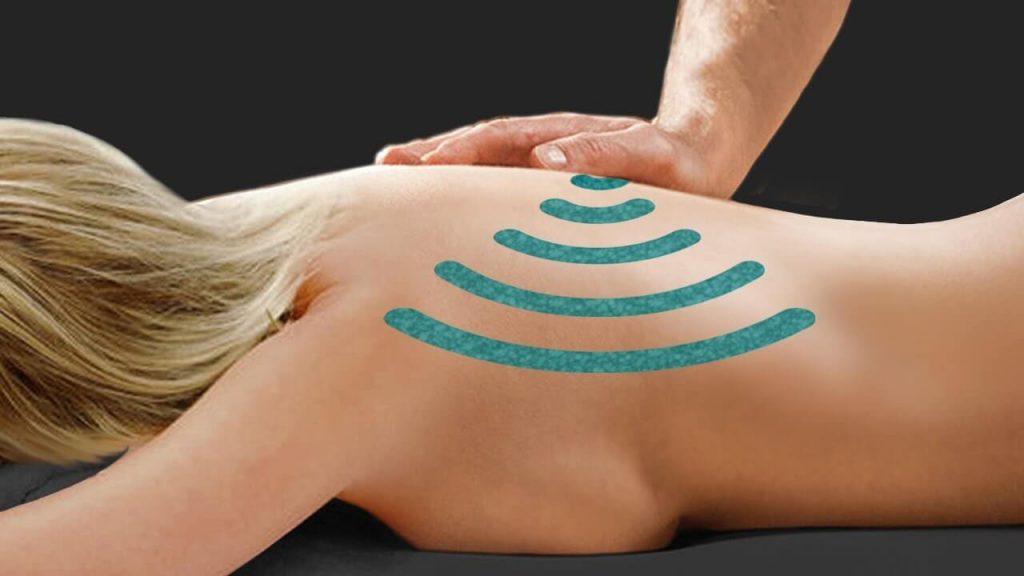 вибрация - расслабляющий массаж спины