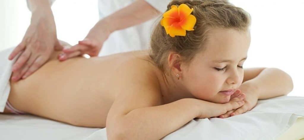 выполнение детского лечебного массажа