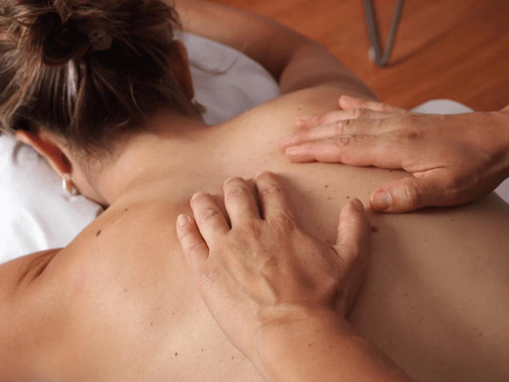 Техника медового массажа спины