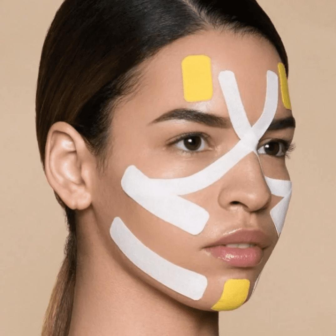 Обучение эстетическому тейпированию лица