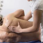 Медовый массаж спины