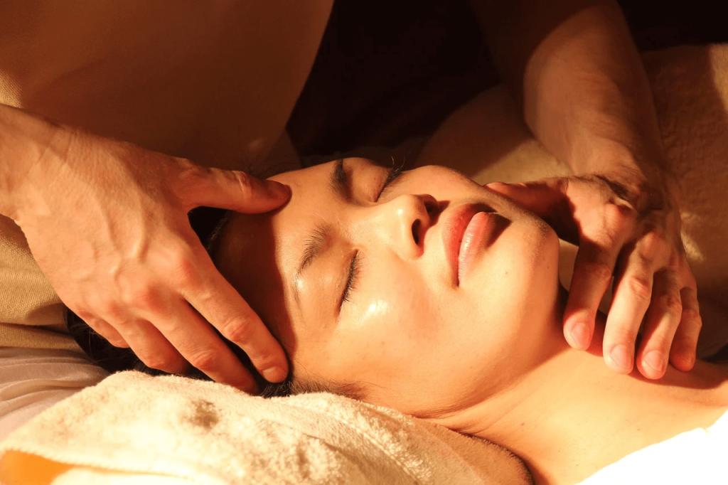 Особенность массажа лица Шиацу