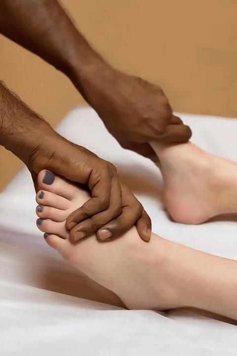 техника выполнения массажа при плоскостопии