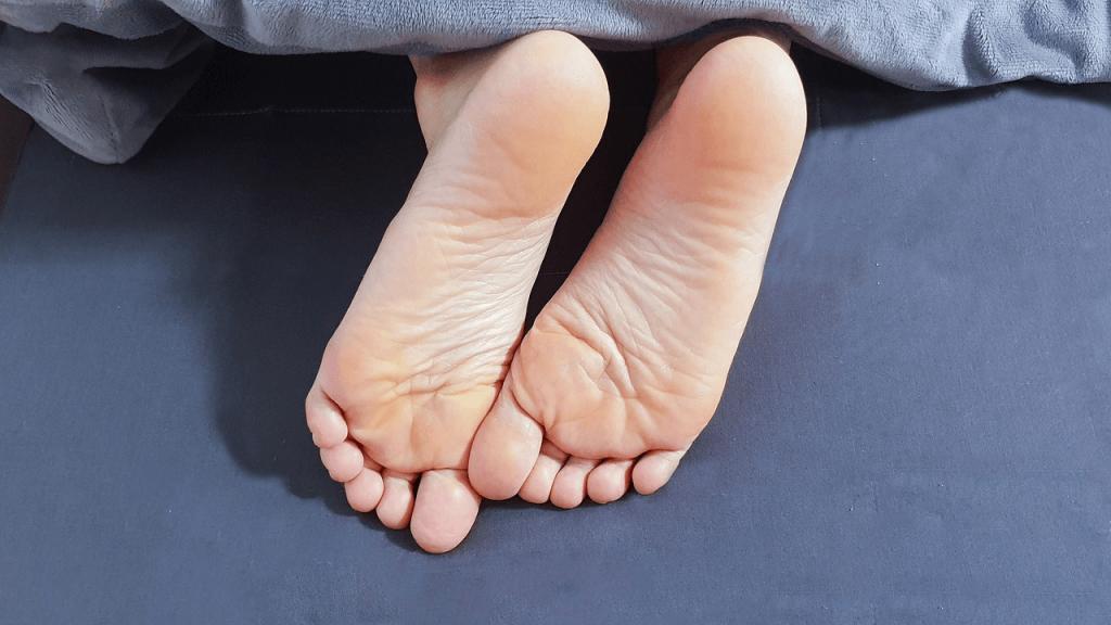 процедура массажа при плоскостопии