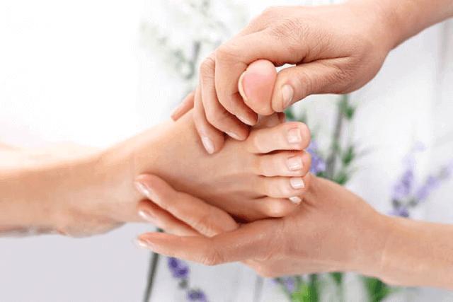 Расслабляющий массаж пальцев